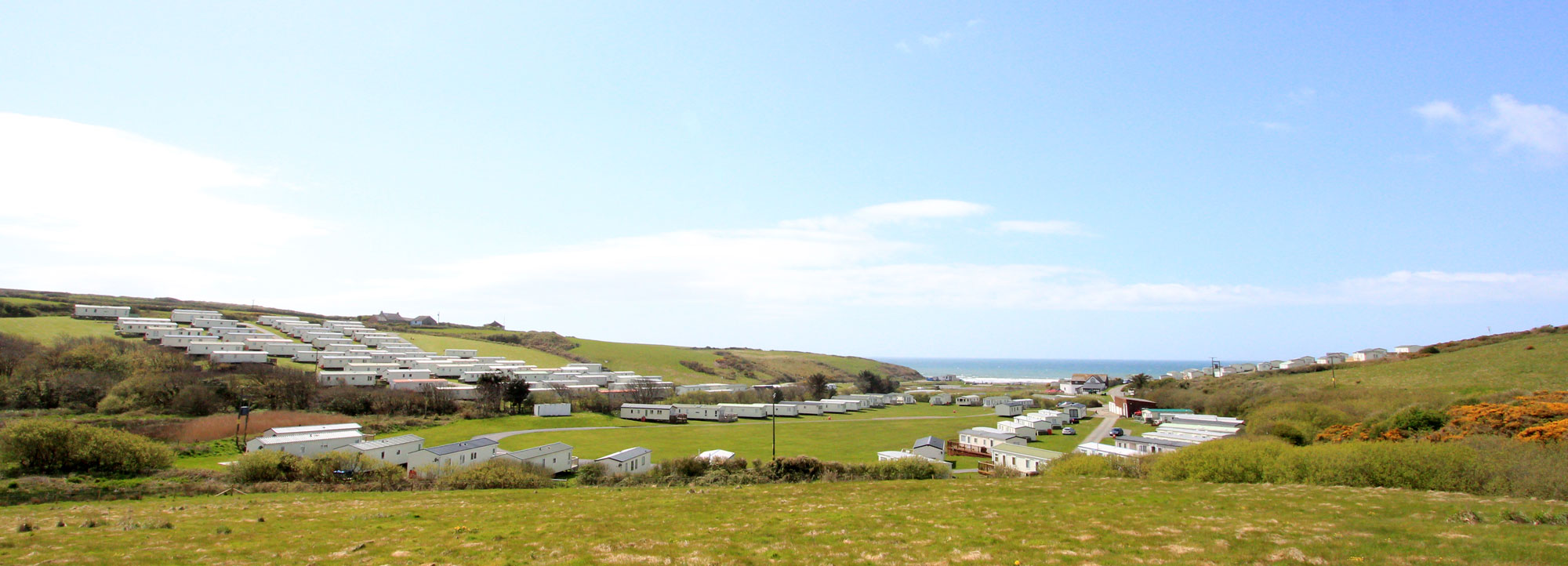 The Sun is out at Newgale